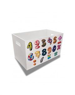 Ящик для игрушек Читай считай для мальчиков Rodent kids
