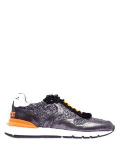 Комбинированные кроссовки Julia Voile blanche