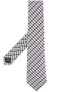классический клетчатый галстук Gieves & hawkes