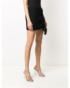 Юбка мини со шнуровкой Alessandra rich