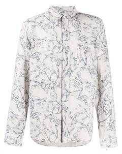 рубашка с цветочным принтом 120% lino