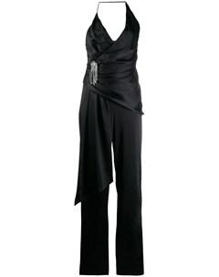 Комбинезон с запахом и широкими брюками Misha collection