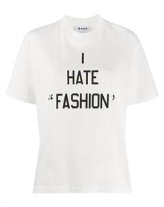 Футболка I Hate Fashion Sunnei