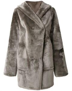 Пальто с капюшоном Sylvie schimmel