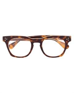 квадратные очки черепаховой расцветки Epos