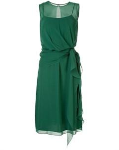 полупрозрачное многослойное платье Max mara