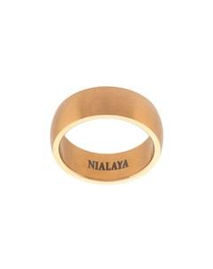 полированное кольцо Nialaya jewelry