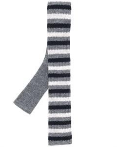 Трикотажный галстук в полоску N.peal
