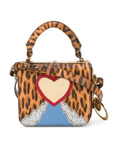 Мини сумка с леопардовым принтом Sophie hulme