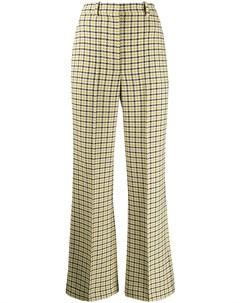 Расклешенные брюки с завышенной талией Victoria beckham