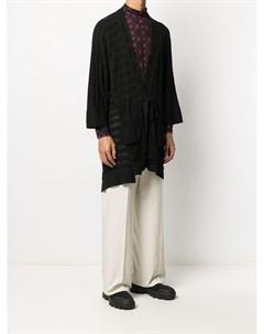 Кардиган пальто с завязками Bernhard willhelm