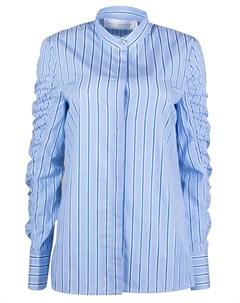 Хлопковая рубашка Victoria beckham