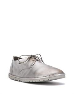 Туфли на шнуровке с округлым носком Marsèll