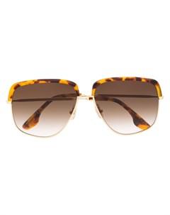 Солнцезащитные очки в квадратной оправе Victoria beckham