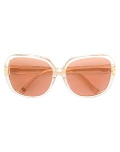 Квадратные солнцезащитные очки с затемненными линзами Dita eyewear