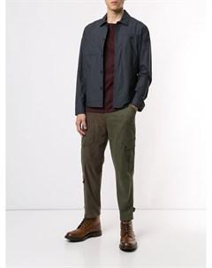 Короткая куртка рубашка Kent & curwen