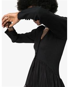 Платье макси Cabbage с принтом Rockins