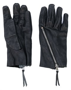 Фактурные перчатки с молнией The viridi-anne