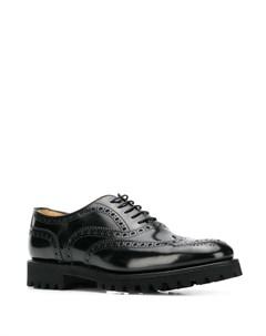 Туфли дерби Commando Sole на шнуровке Church's