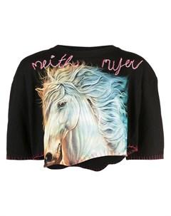 Укороченная футболка Neith nyer