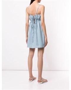 Платье мини с завязками сзади Venroy