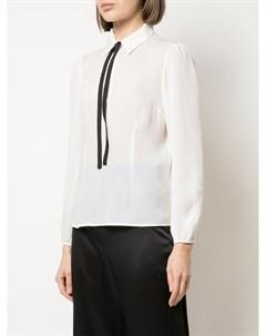 Блузка с завязками Fleur du mal