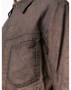 Куртка рубашка Refractaire Isaac sellam experience