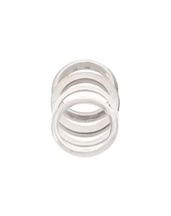 кольцо с плоской поверхностью Werkstatt:münchen