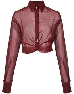 Блузка в клетку Haculla