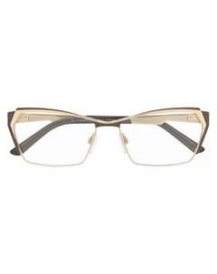 Очки в прямоугольной оправе Cazal