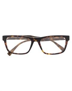 очки в квадратной оправе Versace eyewear