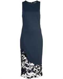 Платье с кружевной вставкой Haney