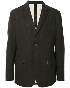 Однобортный пиджак узкого кроя Forme d'expression