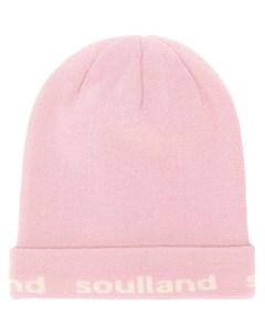 Шапка бини с логотипом Soulland