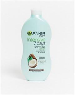 Крем для тела с кокосовым молочком для сухой кожи Intensive 7 Days 400 мл Бесцветный Garnier