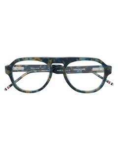 очки в квадратной оправе Thom browne eyewear
