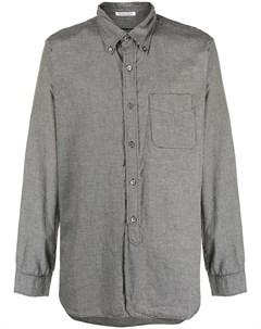 рубашка в ломаную клетку с длинными рукавами Engineered garments