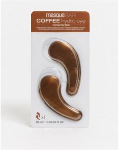 Кофейные гидрогелевые патчи под глаза Бесцветный Masquebar
