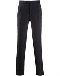 Строгие брюки прямого кроя Dell'oglio