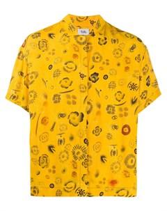 Рубашка с короткими рукавами и графичным принтом Vejas
