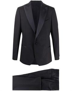 Вечерний костюм двойка с однобортным пиджаком Dell'oglio