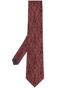 галстук 1990 х годов с принтом Gianfranco ferre pre-owned