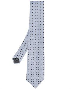 галстук 1990 х годов с узором в горох Gianfranco ferre pre-owned