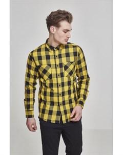 Рубашка Checked Flanell Shirt Black Black 2XL Urban classics