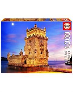 Пазл Башня Белен Лиссабон 1000 деталей Educa