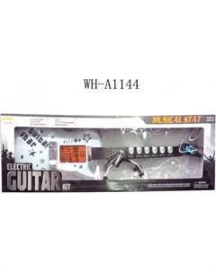 Музыкальный инструмент Гитара электрическая с микрофоном Junfa