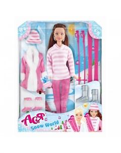 Набор Кукла Ася Снежная красавица 1 Toys lab