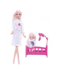Набор Кукла Ася Детский доктор Toys lab