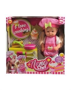 Кукла Nena Шеф повар 36 см Dimian