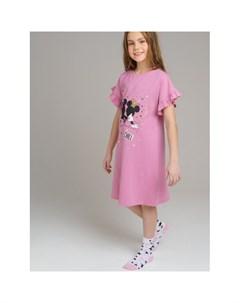 Ночная сорочка для девочек 120124908 Playtoday